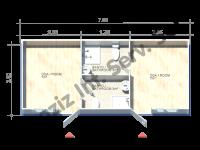 حاويات منصات حكيم 3*7=21 متر مربع
