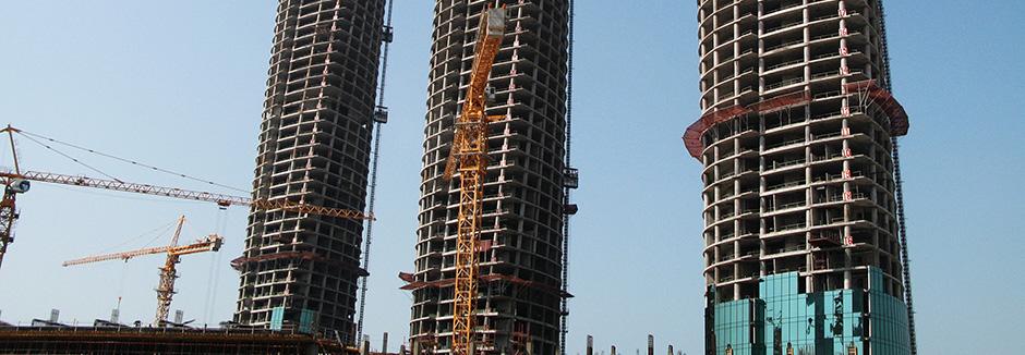 ابنية مواقع العمل من اجل مشاريع البناء