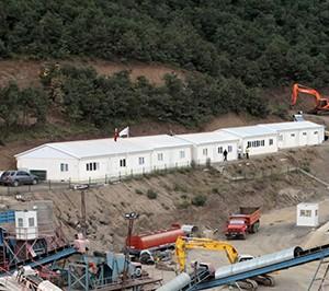 المخيمات من اجل مشاريع التعدين