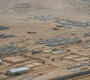 المخيمات من اجل مشاريع النفط و الغاز